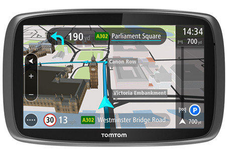 tomtom go 6100 29 900 gps radar. Black Bedroom Furniture Sets. Home Design Ideas